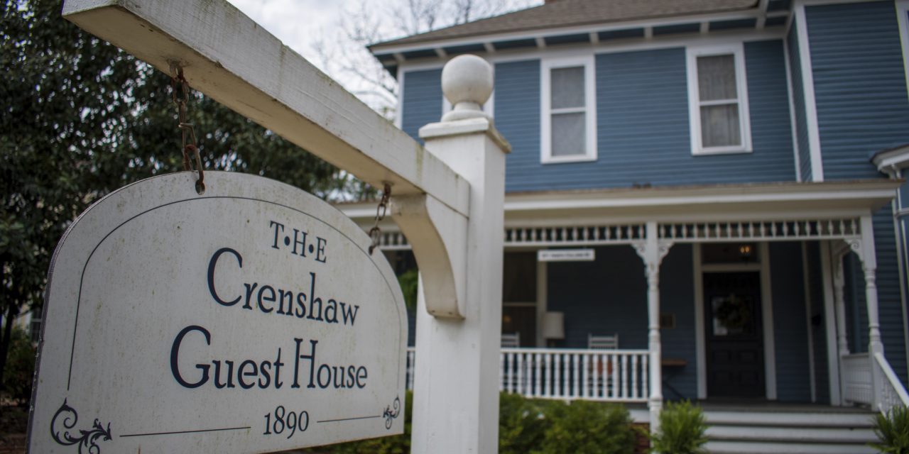 From 1890 to 2021: Crenshaw Guest House